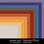 Autumn Glory Embossed Paper Pack-$1.99 (Lindsay Jane)