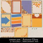 Autumn Glory Journal Cards Pack-$1.99 (Lindsay Jane)