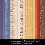 Autumn Glory Paper Pack-$2.49 (Lindsay Jane)