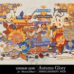 Autumn Glory Embellishment Pack-$3.49 (Lindsay Jane)