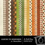 A Fall Day Paper Pack-$3.99 (Albums to Remember)