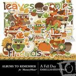 A Fall Day Embellishment Pack-$3.49 (Albums to Remember)