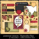 September Sun Journal Bits-$2.49 (Jumpstart Designs)