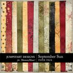 September Sun Blended Paper Pack-$3.49 (Jumpstart Designs)
