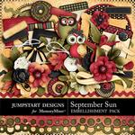 September Sun Embellishment Pack-$3.49 (Jumpstart Designs)