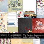 My Project September Pocket Pieces Pack-$1.75 (Laura Burger)