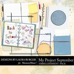 My Project September Journal Cards Pack-$2.49 (Laura Burger)