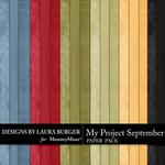 My Project September Solid Paper Pack-$3.49 (Laura Burger)
