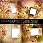 Fall Into Autumn QuickPage 3-$2.45 (MagicalReality Designs)