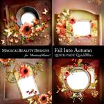 Fall Into Autumn QuickPage 1-$3.49 (MagicalReality Designs)
