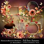 Fall Into Autumn Cluster Pack 1-$2.49 (MagicalReality Designs)