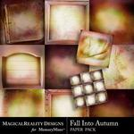 Fall Into Autumn Paper Pack-$3.99 (MagicalReality Designs)