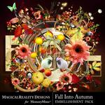 Fall Into Autumn Embellishment Pack-$2.45 (MagicalReality Designs)