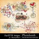 Photobomb Background Fancies Pack-$1.40 (Fayette Designs)