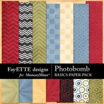 Photobomb Basics Paper Pack-$2.10 (Fayette Designs)
