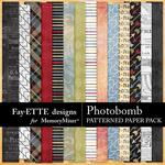Photobomb Patterned Paper Pack-$2.99 (Fayette Designs)