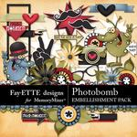 Photobomb Embellishment Pack-$3.49 (Fayette Designs)