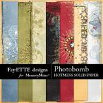 Photobomb Hotmess Solid Paper Pack-$2.99 (Fayette Designs)