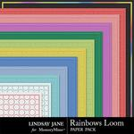 Rainbows Loom Embossed Paper Pack-$1.99 (Lindsay Jane)