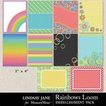 Rainbows Loom Journal Cards-$1.99 (Lindsay Jane)