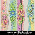 Rainbows Loom Borders Pack-$1.99 (Lindsay Jane)