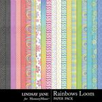 Rainbows Loom Paper Pack-$2.49 (Lindsay Jane)