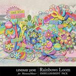 Rainbows Loom Embellishment Pack-$3.49 (Lindsay Jane)