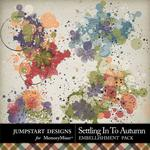 Settling in to Autumn Splatters Pack-$2.49 (Jumpstart Designs)