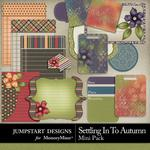 Settling in to Autumn Journal Bits Mini Pack-$2.99 (Jumpstart Designs)