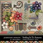 Settling in to Autumn Spare Parts Pack-$2.49 (Jumpstart Designs)