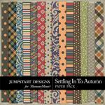 Settling in to Autumn Patterned Paper Pack-$3.49 (Jumpstart Designs)