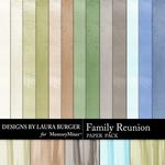 Family Reunion Solid Paper Pack-$3.49 (Laura Burger)