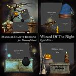Wizard of the Night QuickMix 5-$3.49 (MagicalReality Designs)