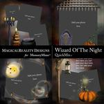Wizard of the Night QuickMix 4-$2.00 (MagicalReality Designs)