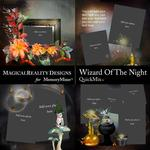 Wizard of the Night QuickMix 3-$2.00 (MagicalReality Designs)