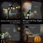 Wizard of the Night QuickMix 2-$3.49 (MagicalReality Designs)