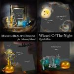 Wizard of the Night QuickMix 1-$3.49 (MagicalReality Designs)