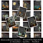 Wizard of the Night Book Portrait QM-$5.00 (MagicalReality Designs)