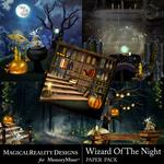 Wizard of the Night Scenes Paper Pack-$2.00 (MagicalReality Designs)