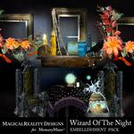 Wizard of the Night Cluster Pack 1-$1.99 (MagicalReality Designs)