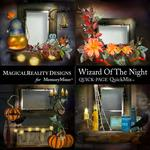 Wizard of the Night QuickPages-$3.49 (MagicalReality Designs)