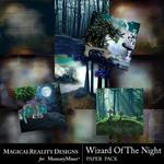 Wizard of the Night Paper Pack 1-$3.99 (MagicalReality Designs)