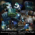 Wizard of the Night Paper Pack Bundle-$5.49 (MagicalReality Designs)
