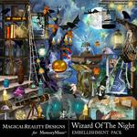 Wizard of the Night Embellishment Pack-$3.49 (MagicalReality Designs)