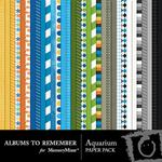 Aquarium Paper Pack-$3.99 (Albums to Remember)