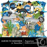 Aquarium Embellishment Pack-$3.49 (Albums to Remember)