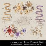 Love Peanut Butter Scatterz Pack-$1.99 (Lindsay Jane)