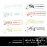 Wordart Wonders-$2.00 (Karen Lewis)
