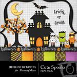 Cute Spooks Mini Pack-$2.80 (Designs by Krista)