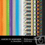 Halloween Dress Up Paper Pack-$3.99 (Albums to Remember)